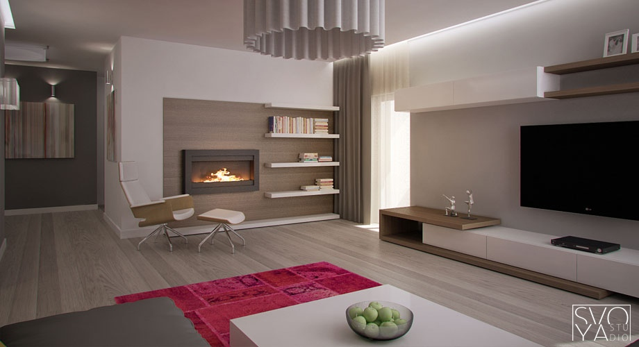 Avant-Garde Apartments feature the Latest Lines and Lighting ...