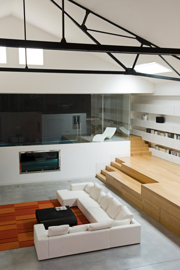 Teresa Sapey Loft Private space overall