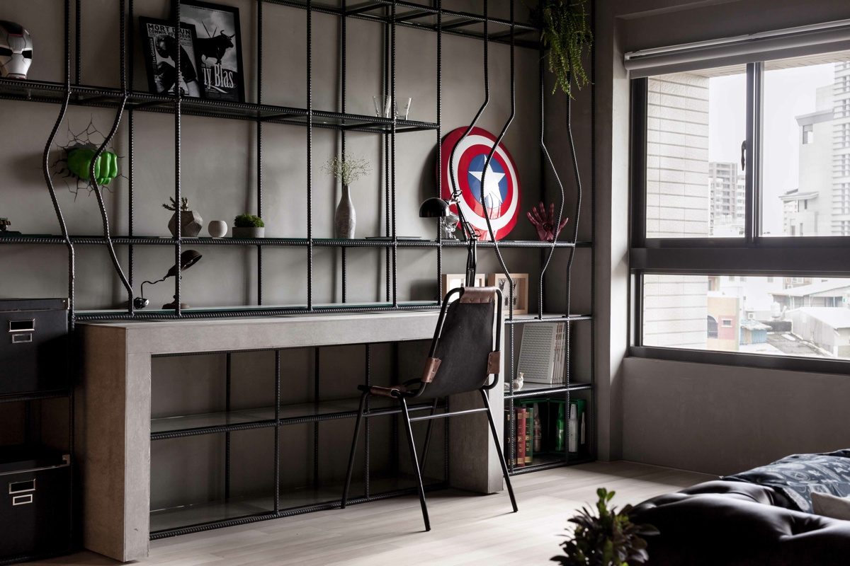 Marvel Heroes Bedroom Decor Fabulous Marvel Heroes Themed House With Cement Finish And
