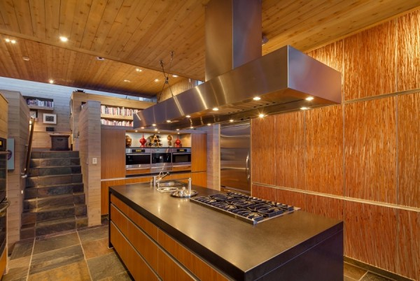 Custom quarried Rajasthani slate floors are found both inside and out.