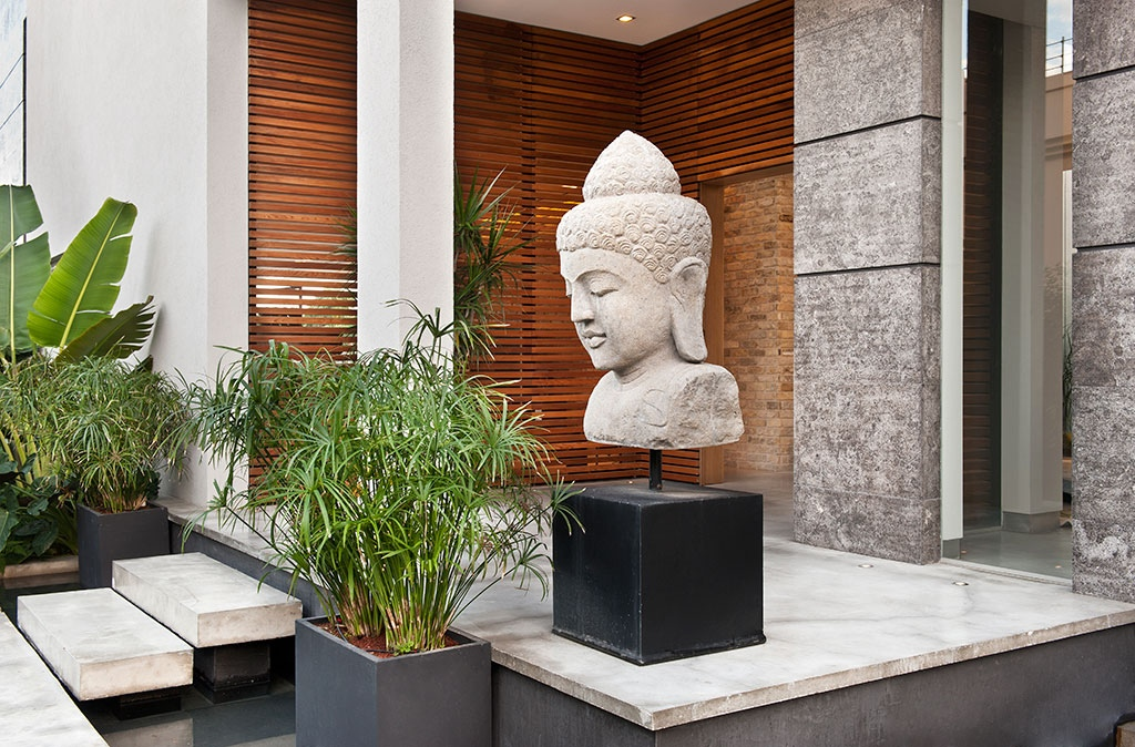 Buddhist decor interior design ideas for Fontaine jardin decoration exterieure