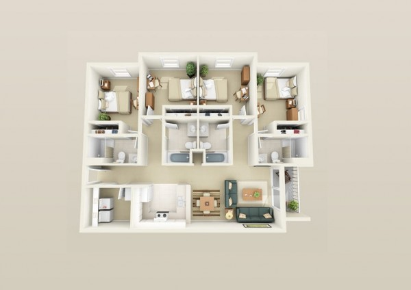 Apartment Interior Design Plans