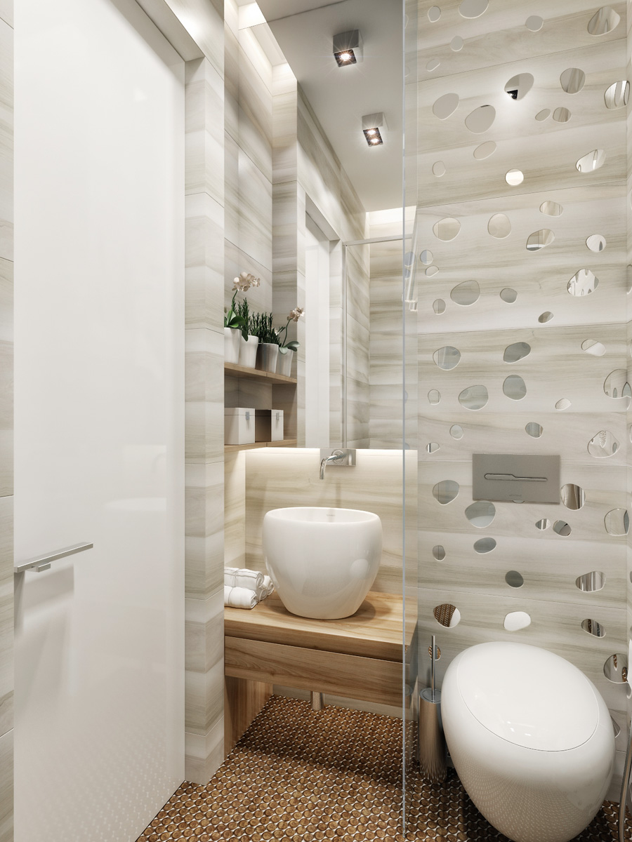 Ukrainian design team creates interiors of luxurious comfort for Home decor interiors bathroom