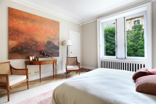 french bedroom art