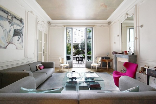 french living room interior design