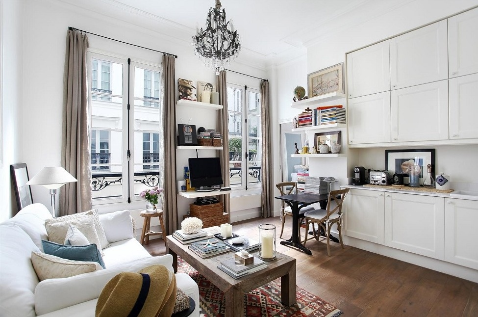 paris living room.  French Interior Design The Beautiful Parisian Style