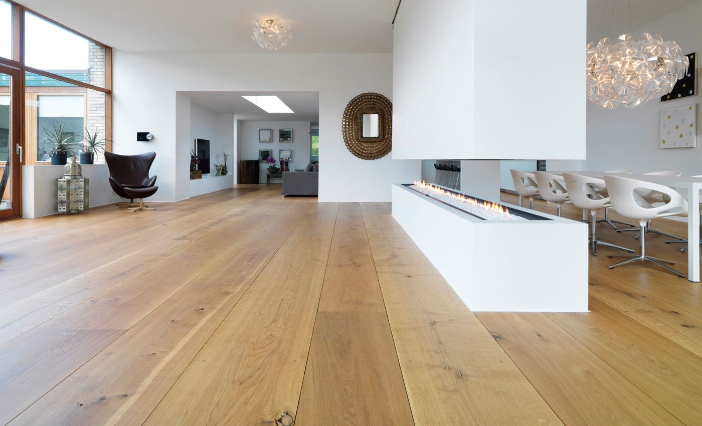 Beautiful wood flooring for White hardwood floors design ideas