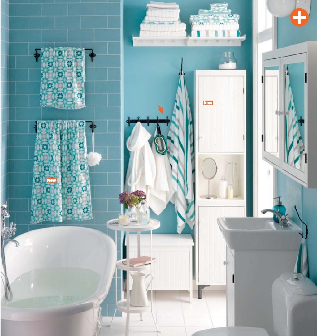 Ikea 2015 catalog world exclusive for Faience salle de bain bleu turquoise