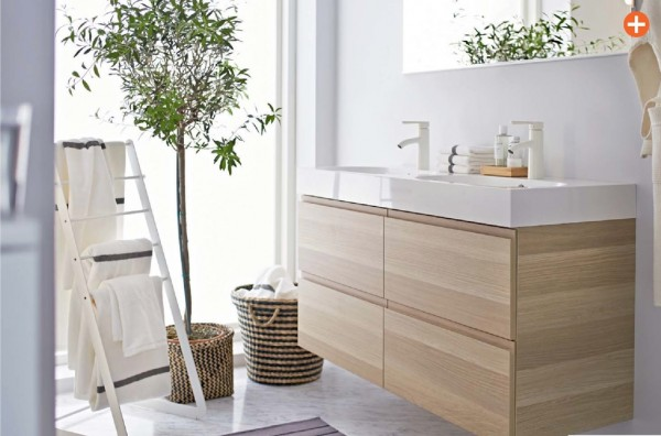 ikea bathroom white