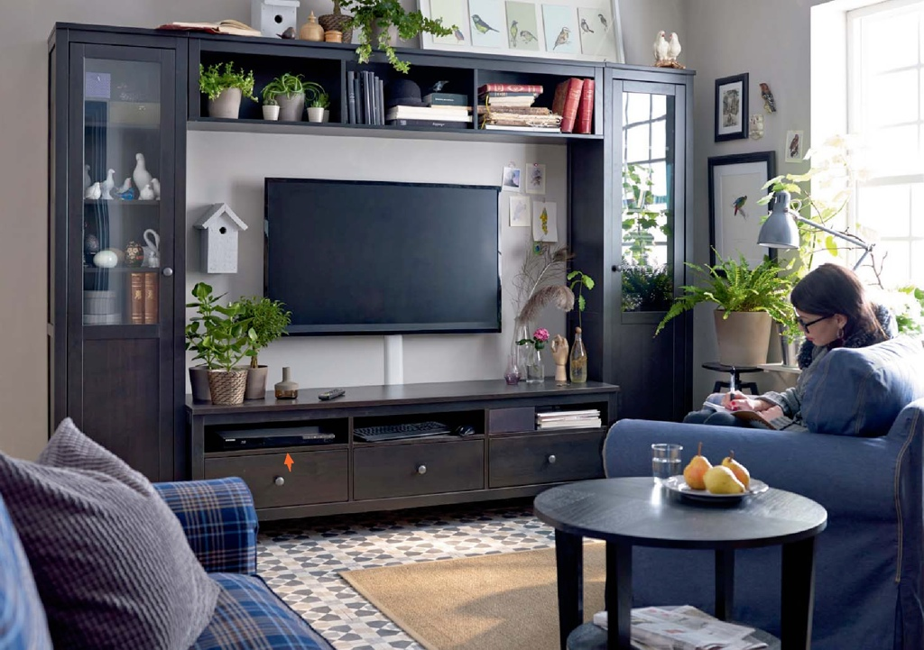 Ikea catalog 2015 living rooms interior design ideas Ikea media room ideas