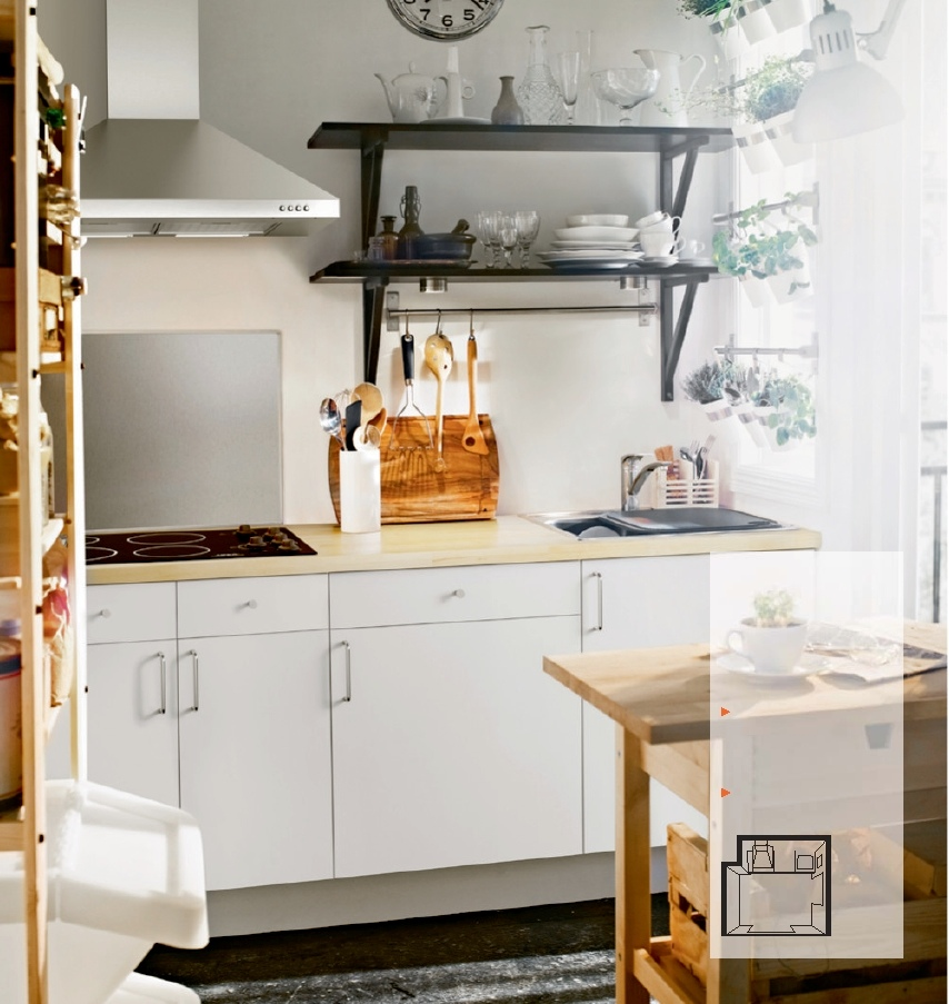 Ikea Small Kitchen Ideas Photo Decorating Inspiration