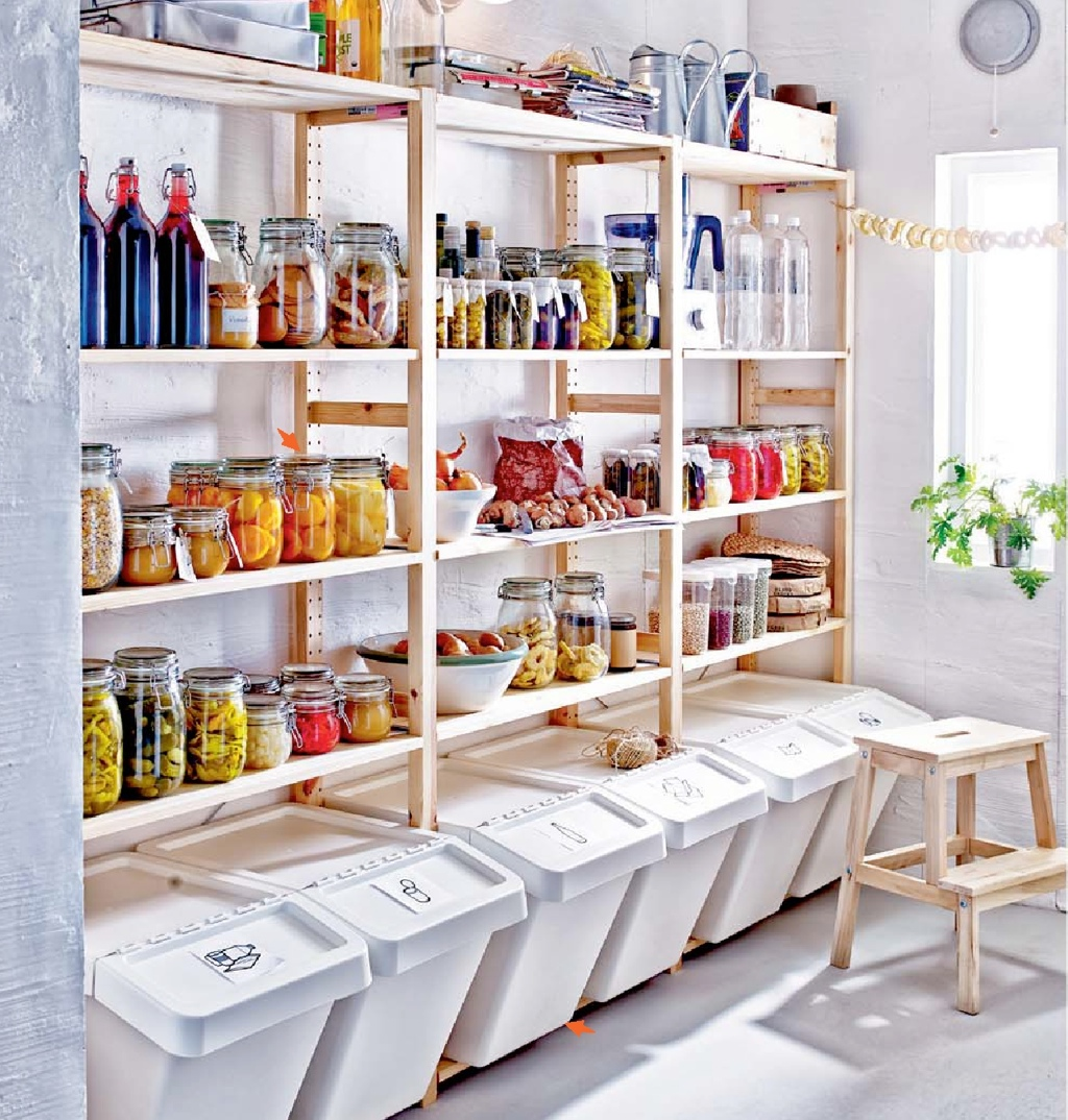 Speisekammer Einrichten ikea kitchen storage 2015 interior design ideas