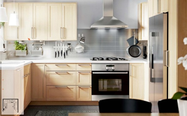 In focusing on these rooms, however, the kitchen has not been forgotten! Often the place where families bond and the home of much multitasking, IKEA has kept the kitchen up to date to function not only smoothly and beautifully, but in harmony with the latest technologies.