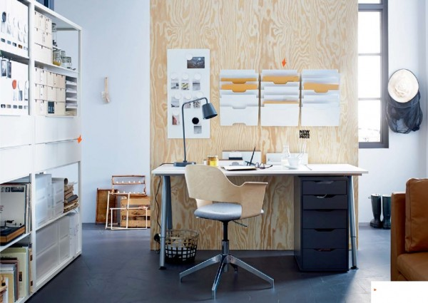 Only one room seems to have been a bit less addressed than we would like to see, as is the usual case with IKEA, and that's the home office… because that's where one writes design articles!