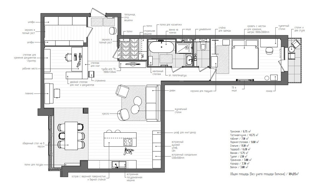 L shaped apartment plan interior design ideas for L shaped apartment design