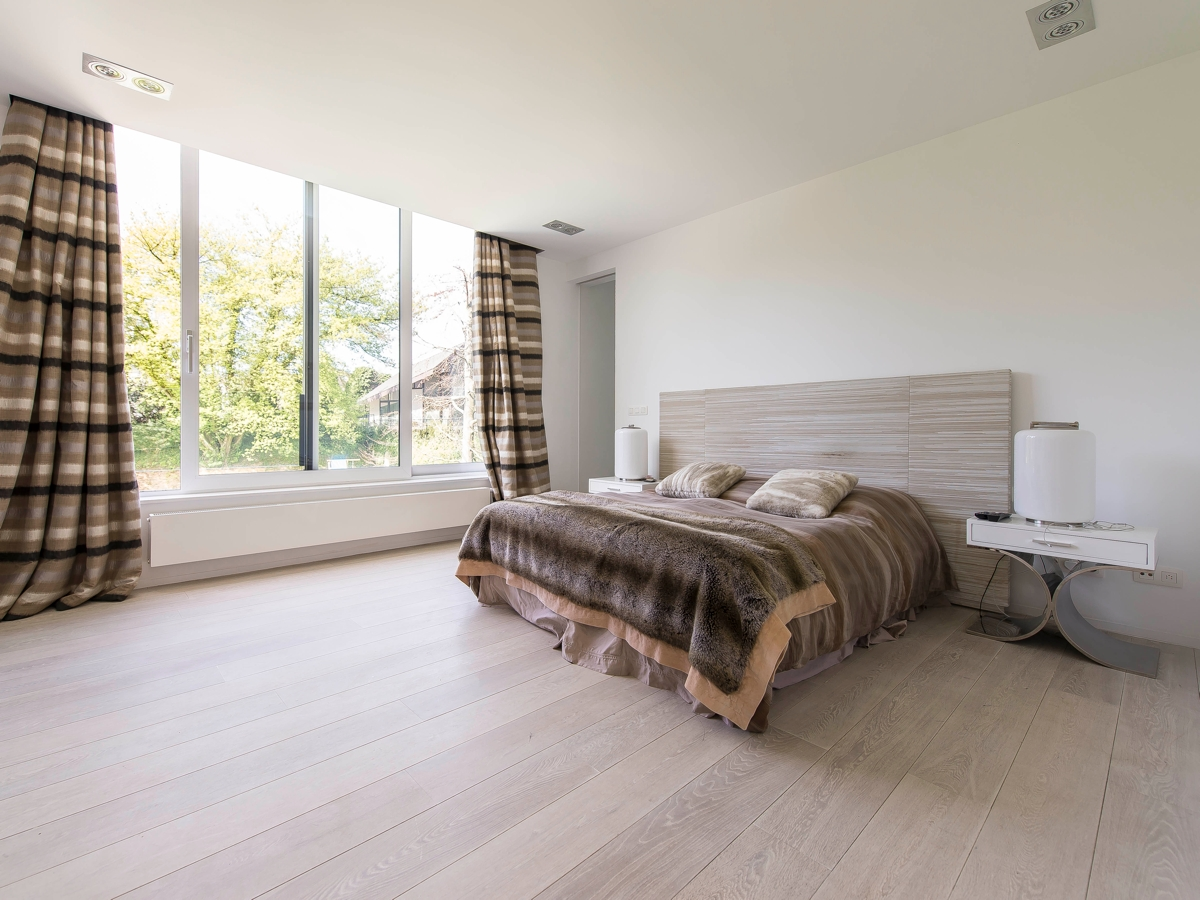 Modern Bedroom Ideas - Stunning belgian family home with floor to ceiling windows