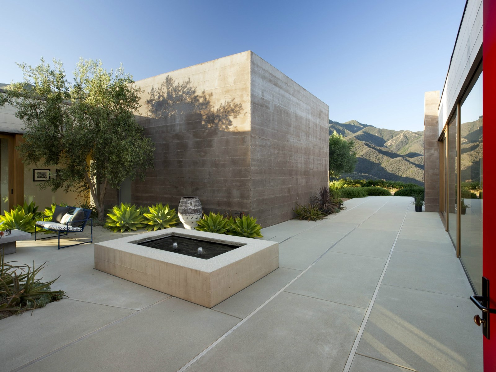 a modern architectural masterpiece in california