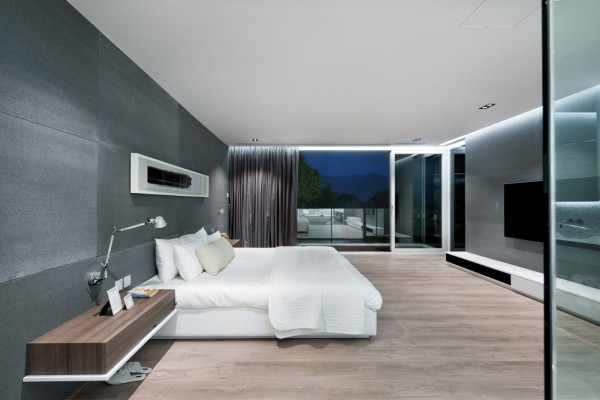 The bedrooms themselves are also spacious, with the master bedroom opening up onto its own private balcony.