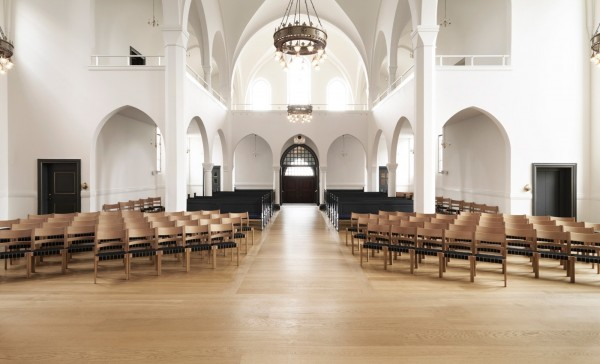 ...and churches here can benefit from the natural beauty of a beautiful wood floor.