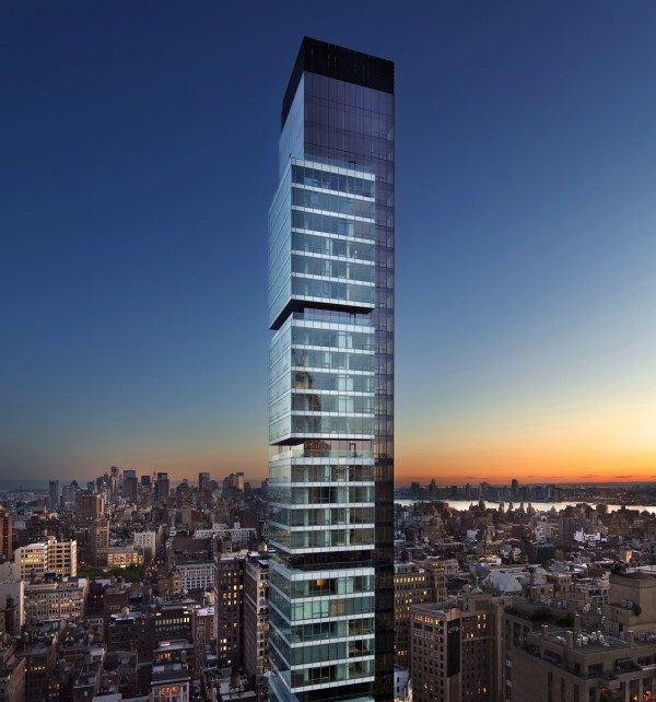The 60-story building is located just across from Madison Square Park on East 22nd Street. The building features a private gym, butler-serviced dining room, commissioned artwork in the secure lobby, and amazing views of New York City.