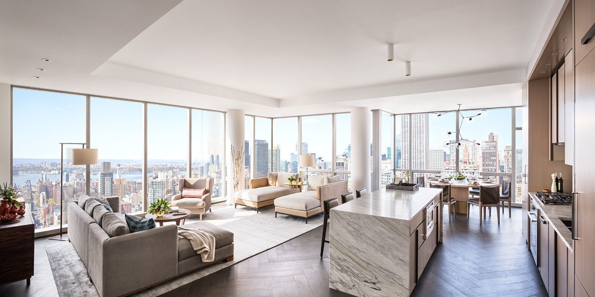 Gisele bundchen and tom brady apartment at one madison for New york condo interior design