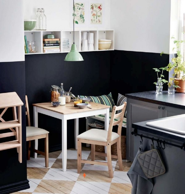 small kitchen corner design