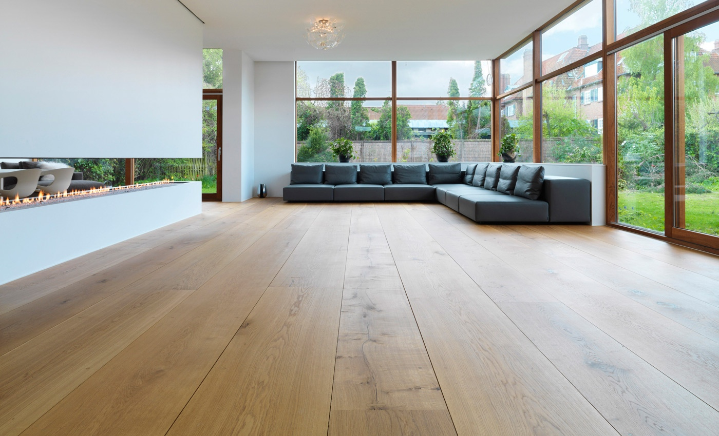 Beautiful wood flooring for Type of floors in houses