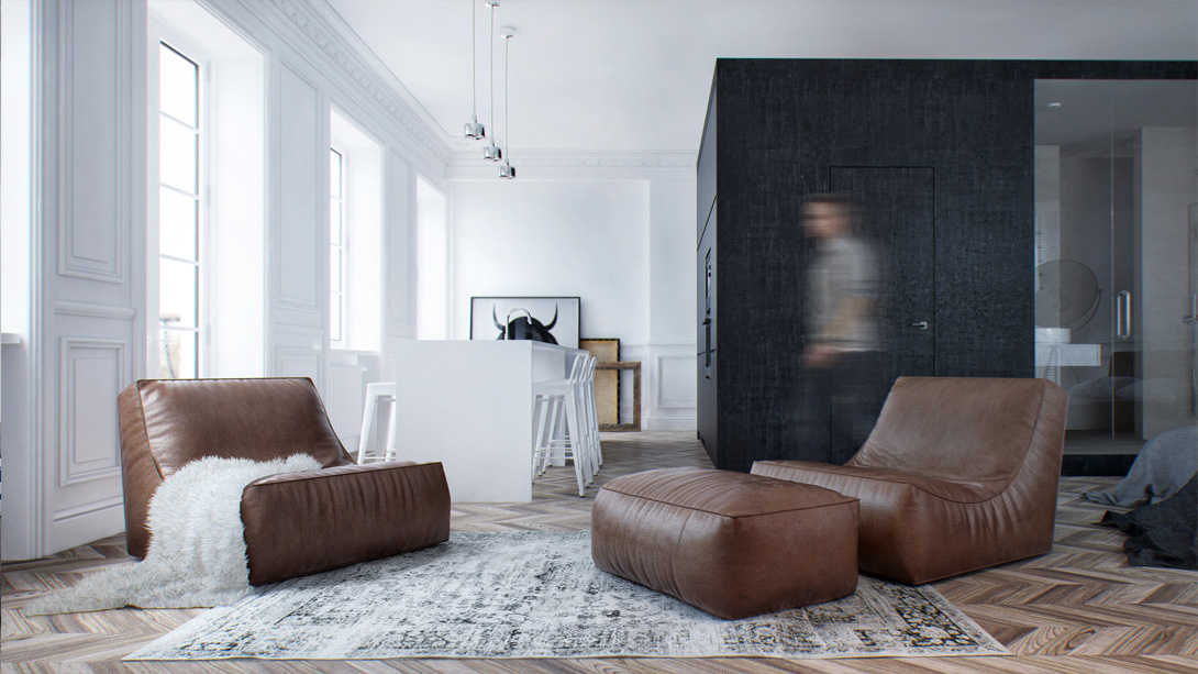 Four Apartments From St Petersburgs Int2 Architecture