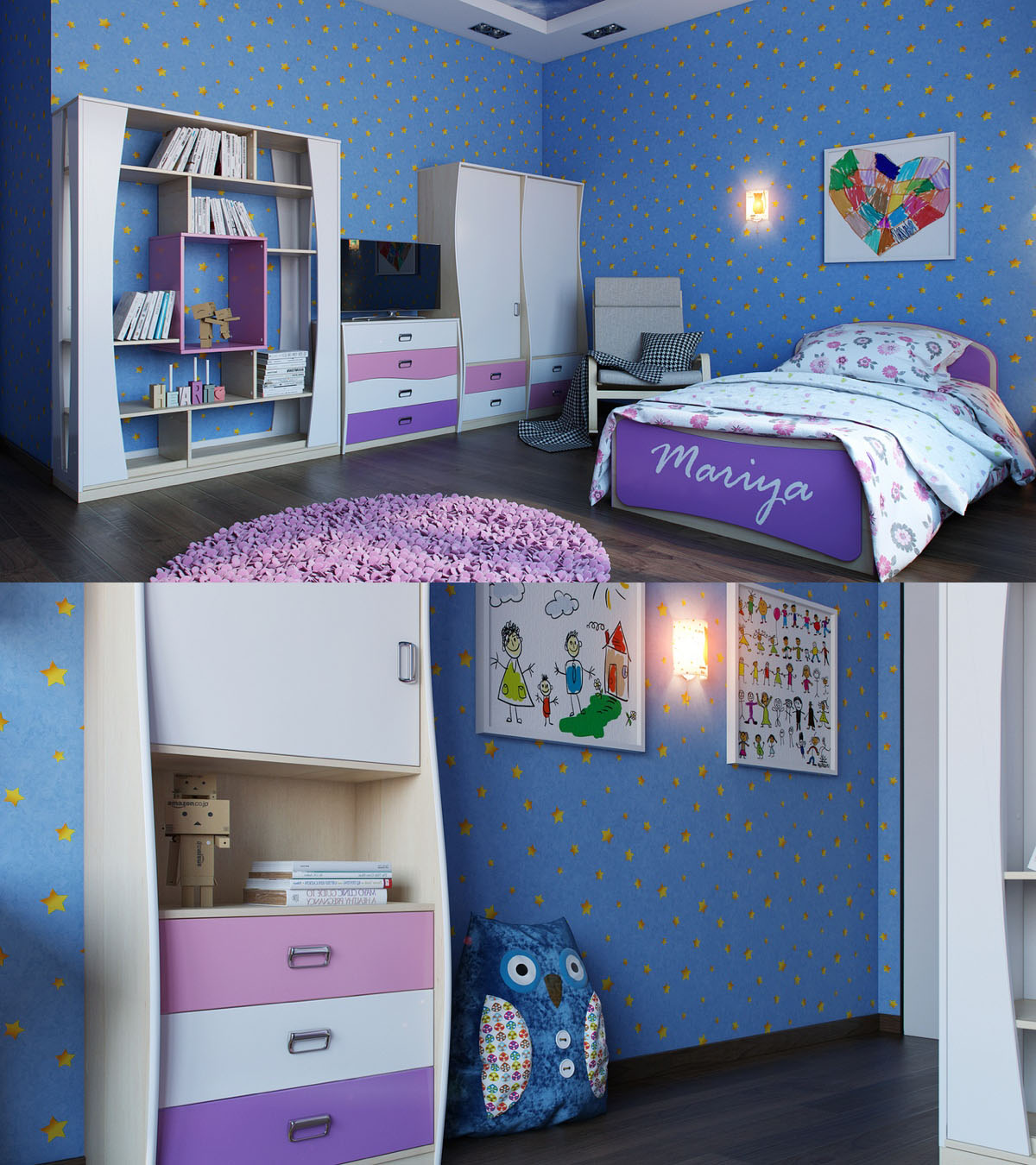 Bright And Colorful Kids Room Designs With Whimsical