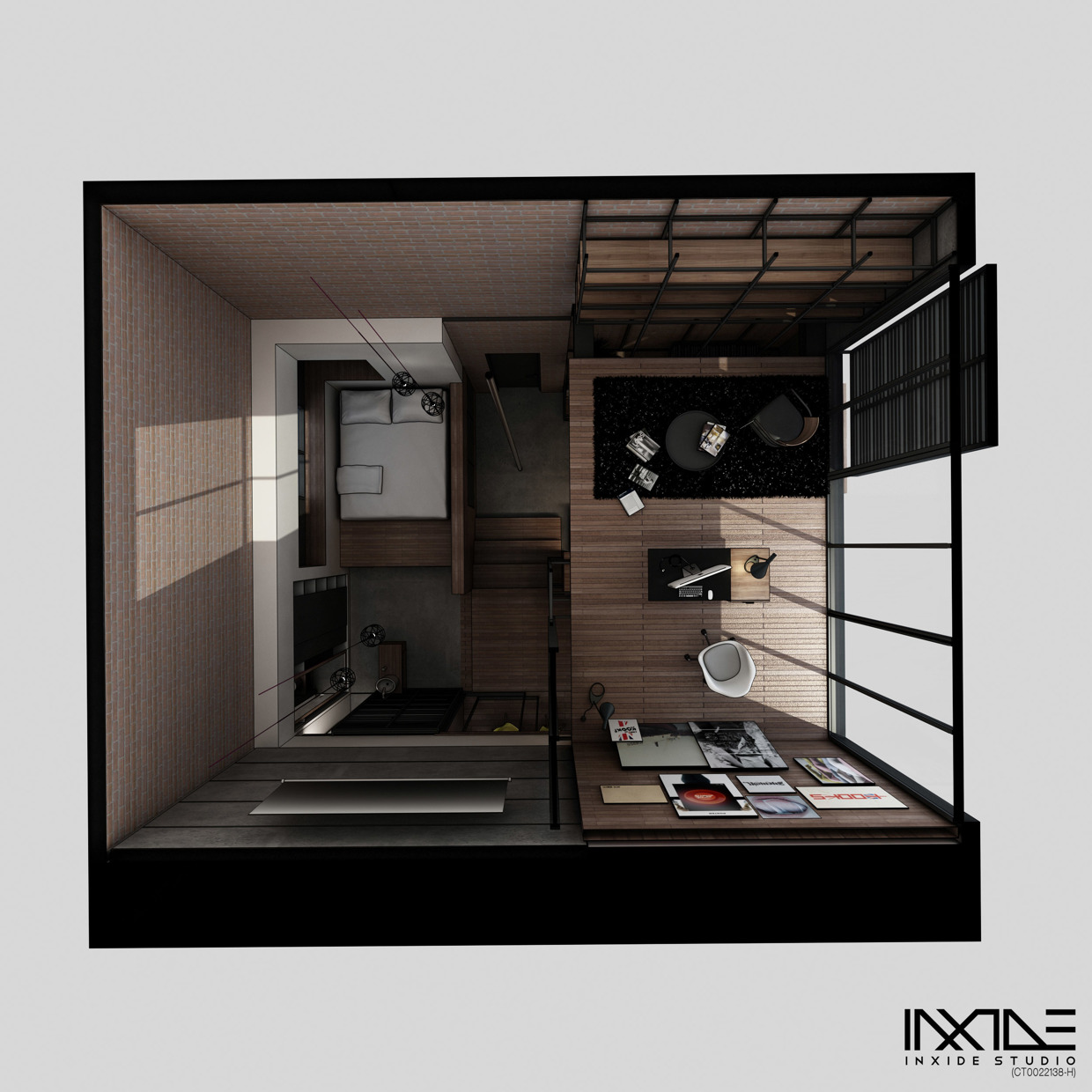 Compact modern house made from affordable materials for Compact home designs