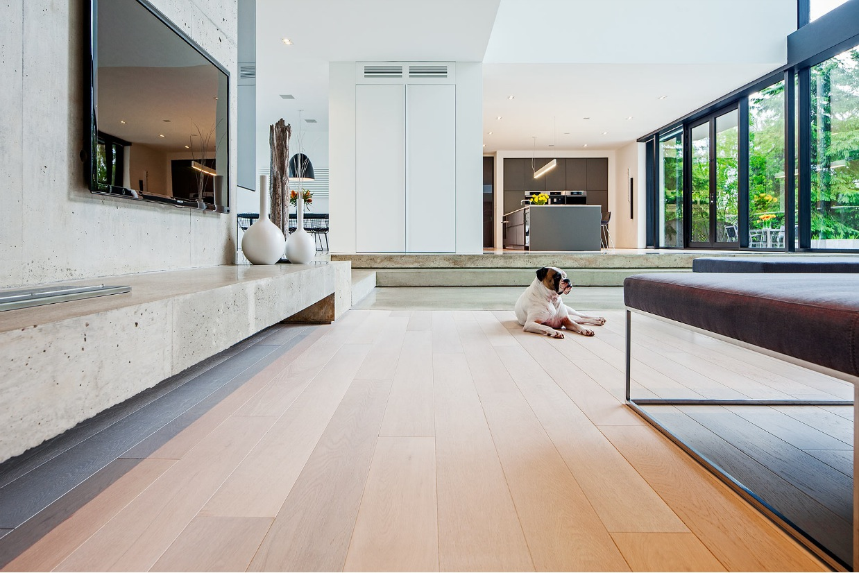 Concrete Mantle - Ultra sleek private home with incredible architecture