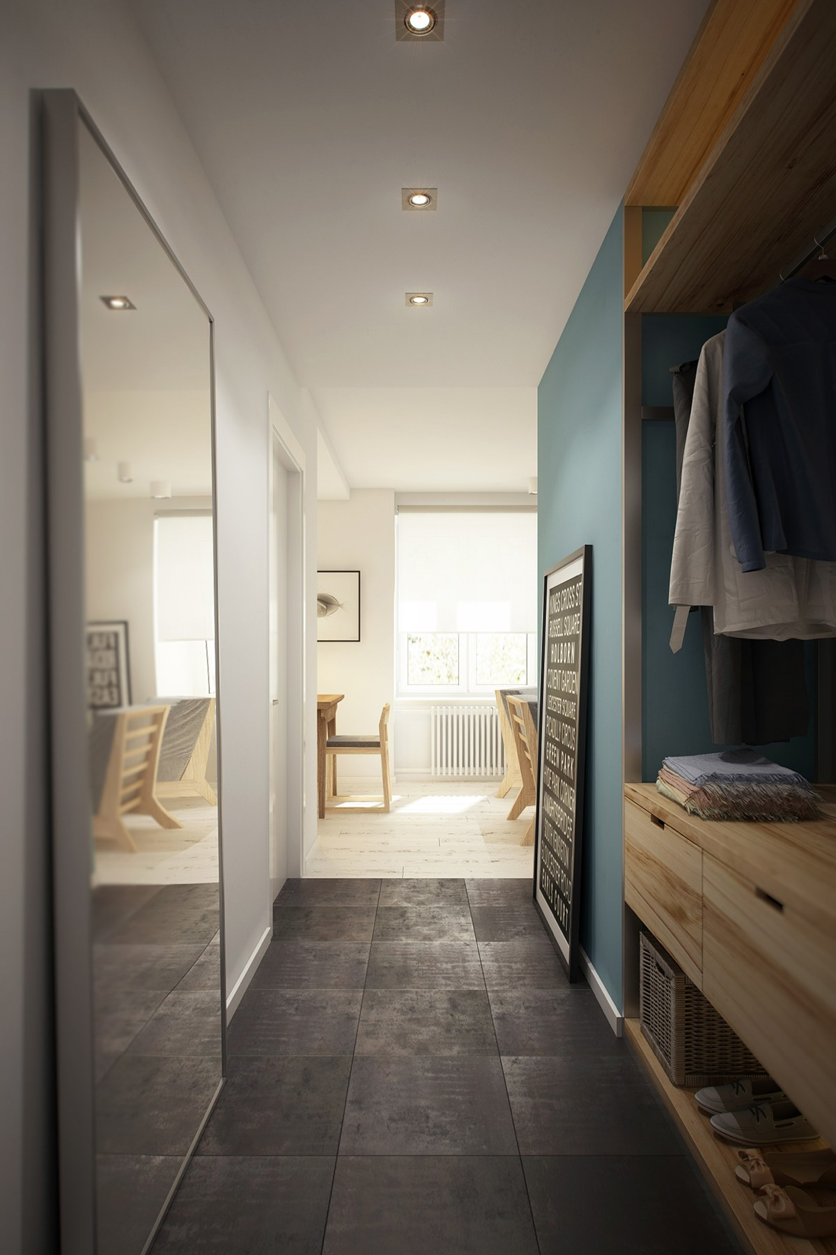 Cool Dressing Area - 3 beautiful homes under 500 square feet