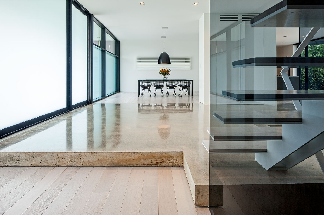 Elevated Stone Floor - Ultra sleek private home with incredible architecture