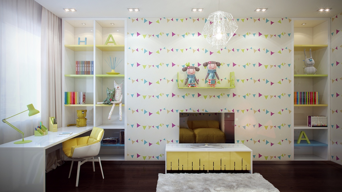 Fun Kids Room Bright And Colorful Kids Room Designs With Whimsical Artistic Features