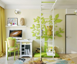 ... Bright And Colorful Kids Room Designs With Whimsical Artistic Features  ...