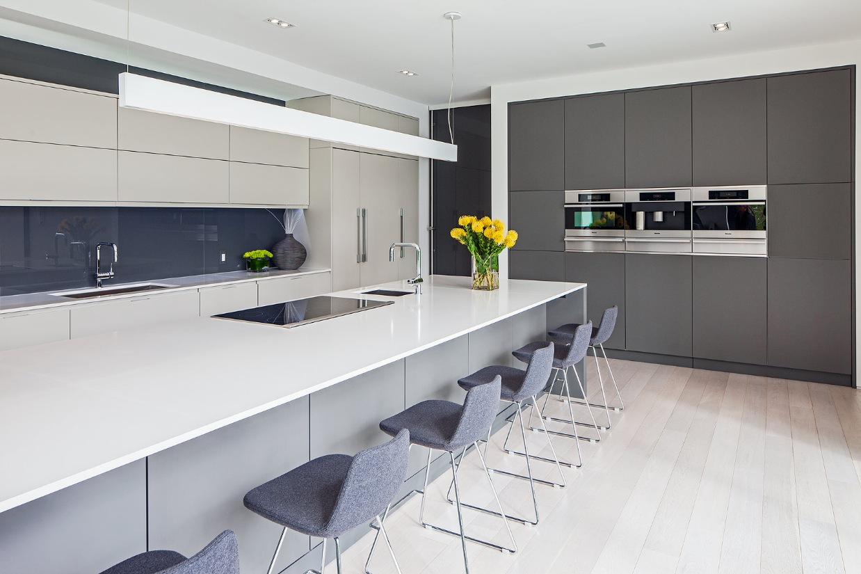 Kitchen Design - Ultra sleek private home with incredible architecture