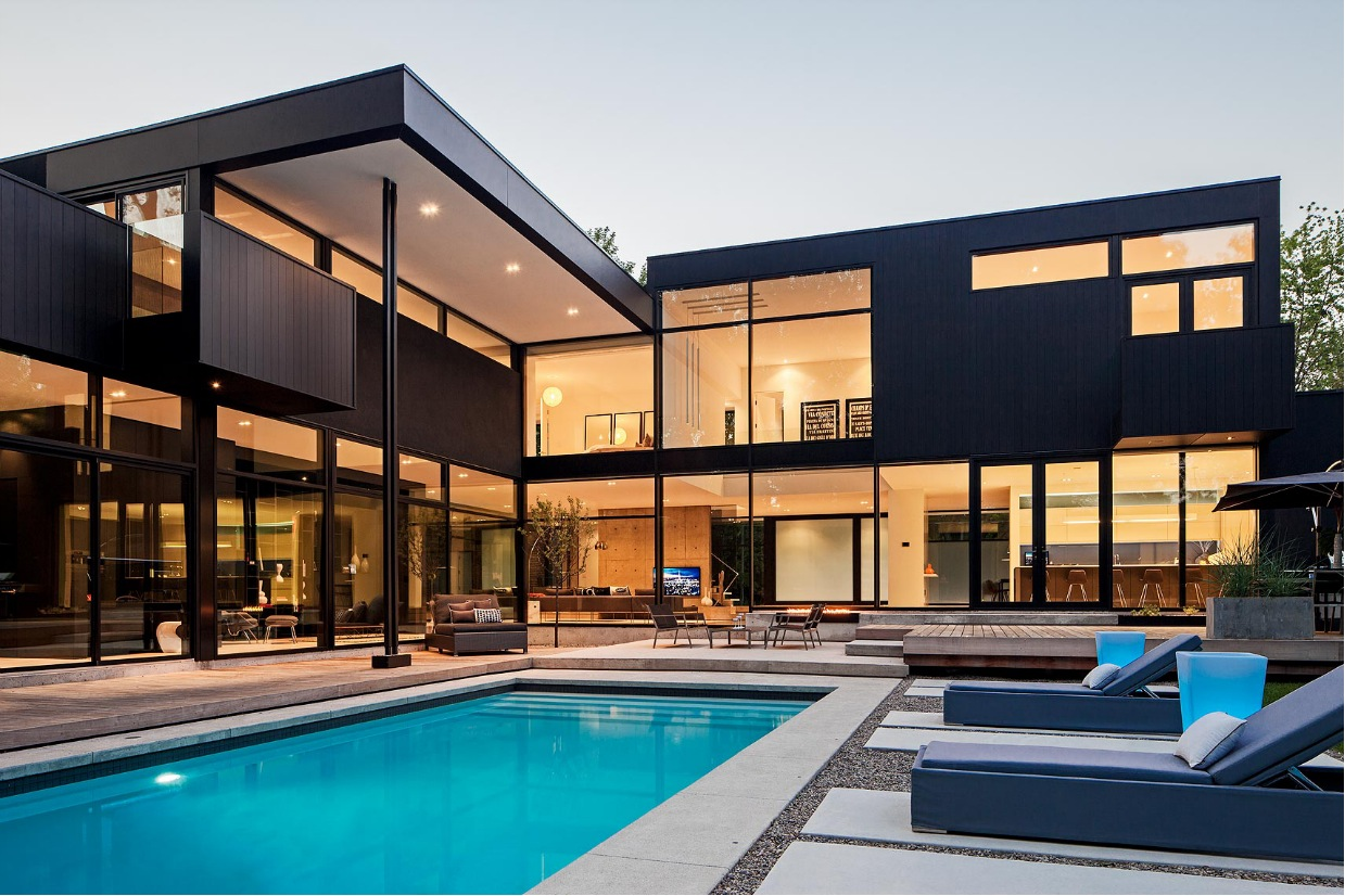 Ultra Contemporary Homes Of Ultra Sleek Private Home With Incredible Architecture