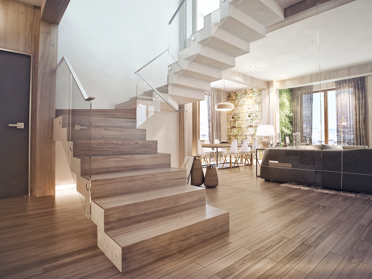 Modern Staircase Interior Design Ideas