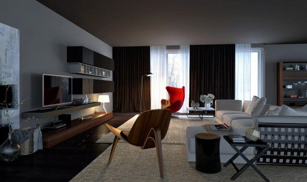 Awesomely stylish urban living rooms deezner for Living room ideas urban