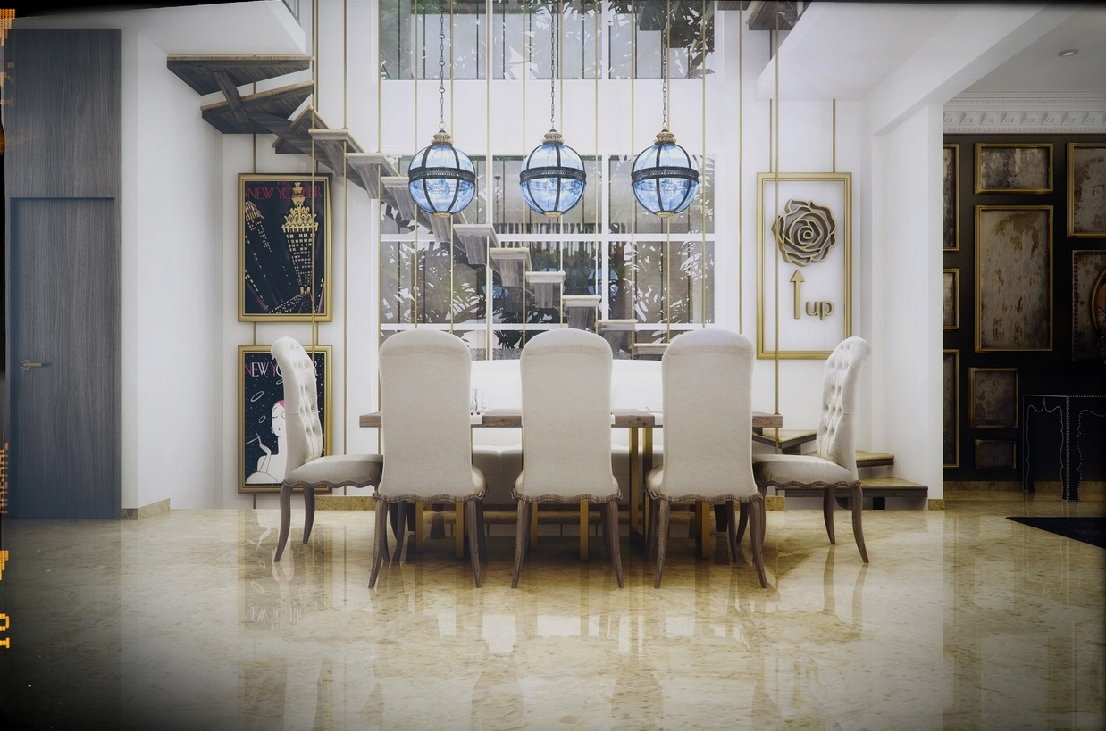 Cool dining room design for stylish entertaining for Comedores elegantes