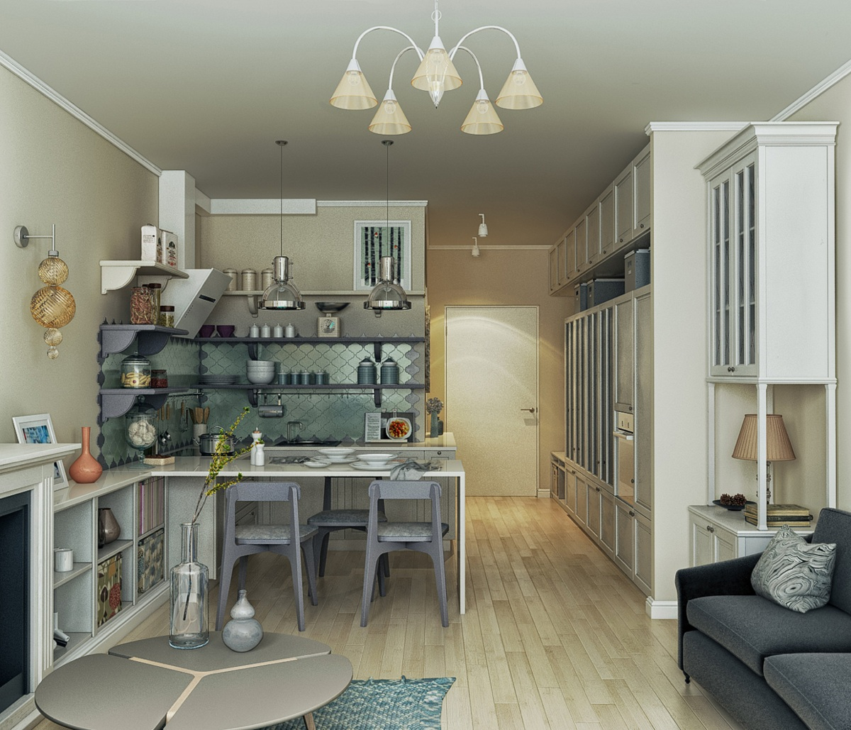 Homes under 400 square feet 5 apartments that squeeze for Apartment square feet