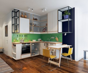 homes under 400 square feet 5 apartments that squeeze utility out of every square inch - Studio Apartment Design Ideas 500 Square Feet
