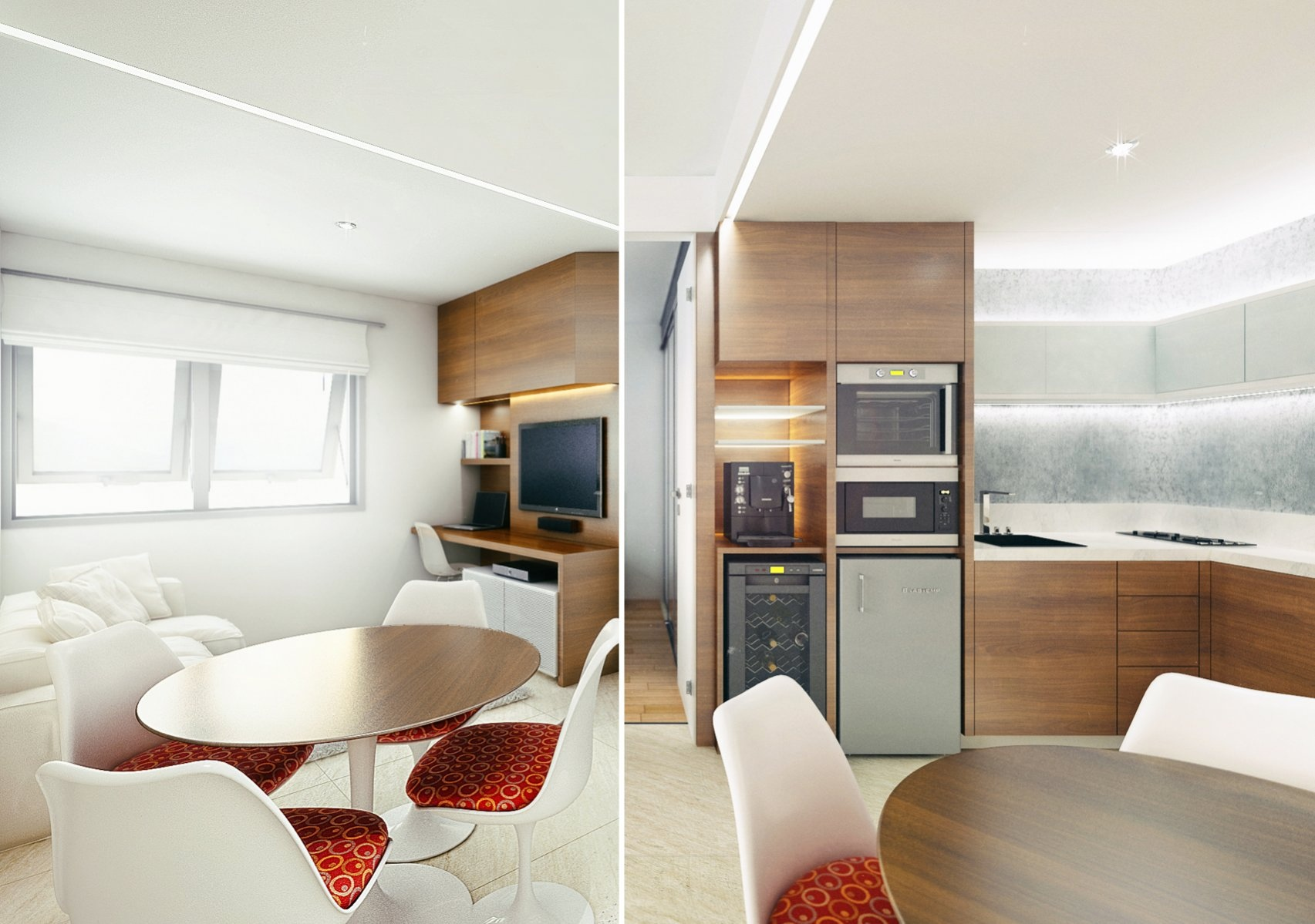 ll look at this quaint modern apartment from the designers at fpcamp