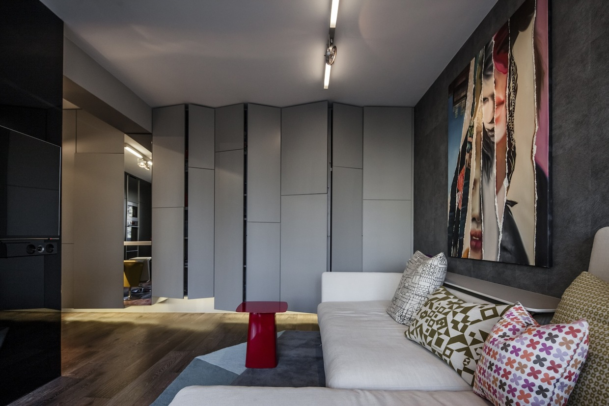 Small Apartment Interior Design Working With Just 40 Square Meter 431 Square Feet