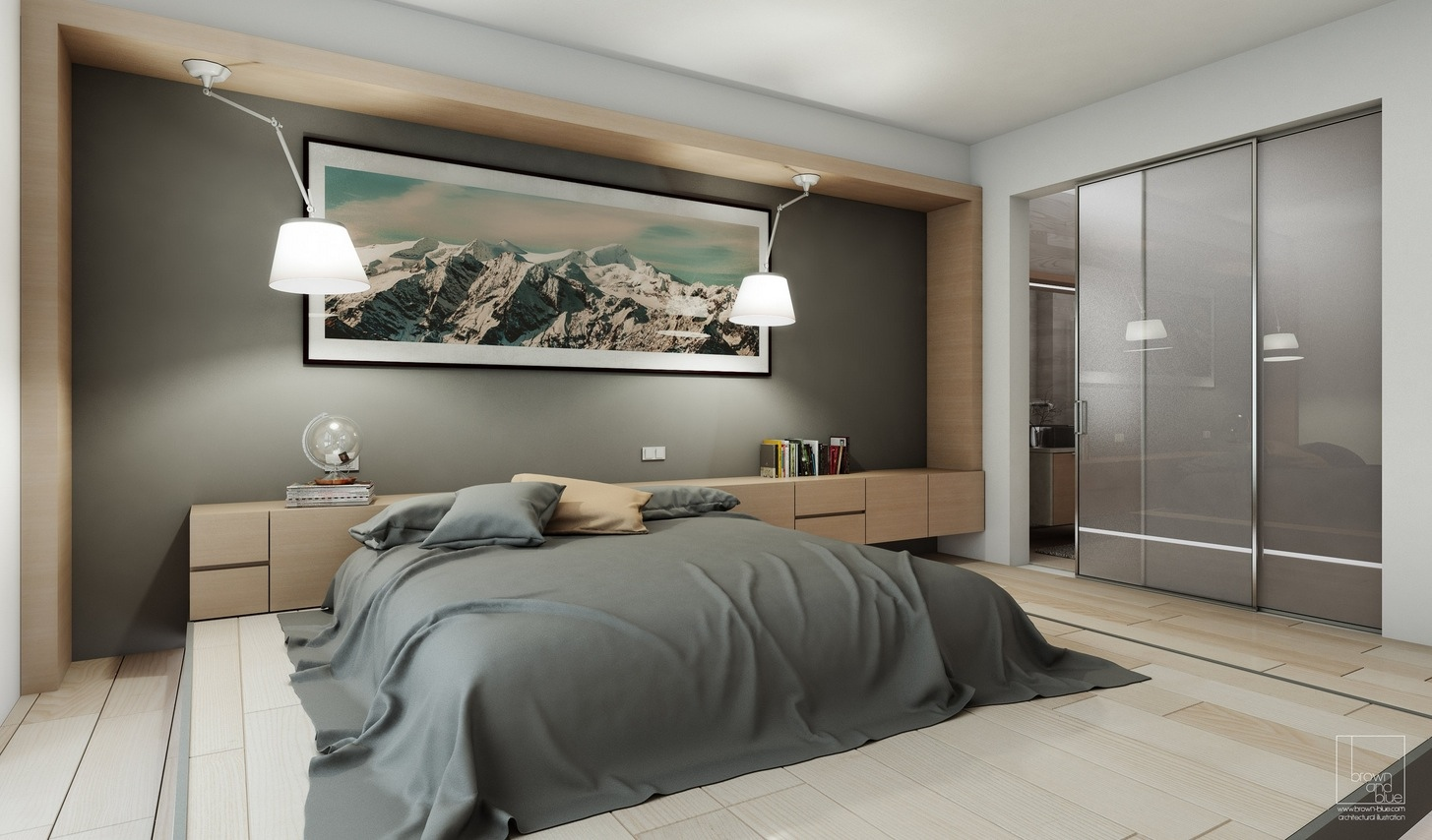 Stylish bedroom designs with beautiful creative details for Bedroom remodel