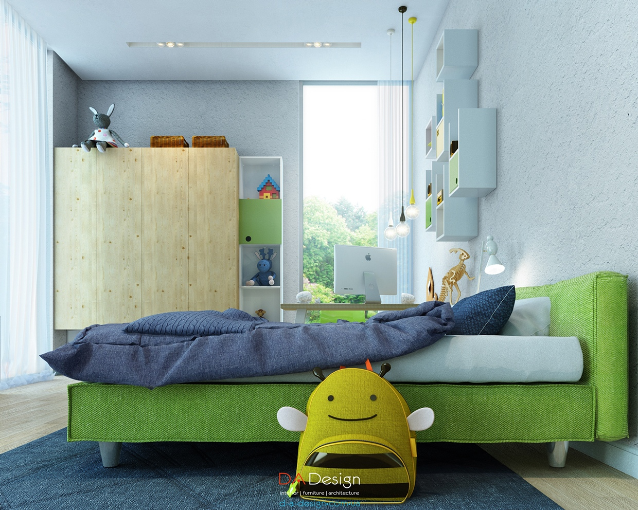 Colorful Kids Room Designs With Plenty Of Storage Space - Colorful kids room designs with plenty of storage space