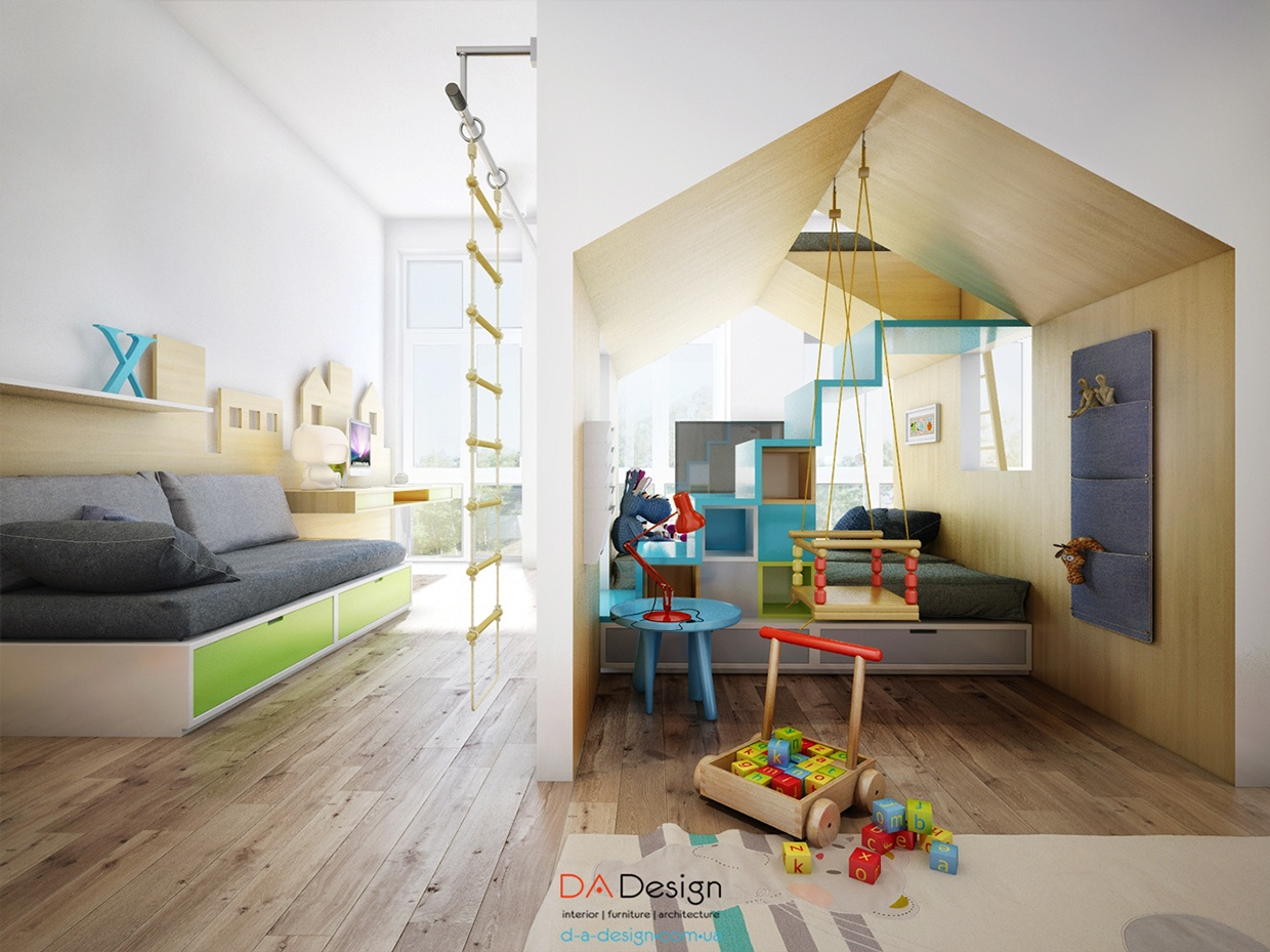 Indoor playhouse design interior design ideas for Indoor house design ideas