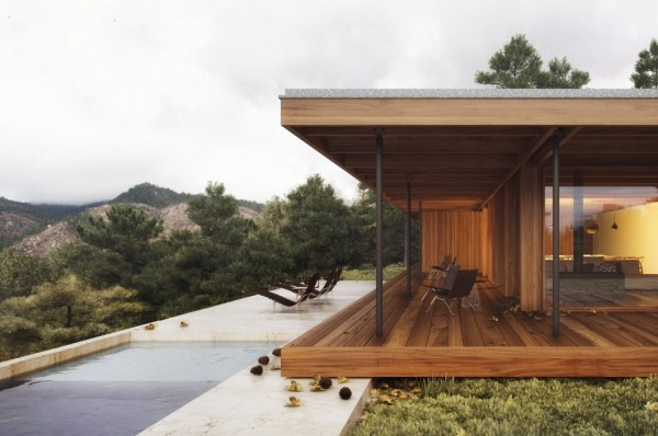 Another woodsy retreat that lets you get really close to nature.