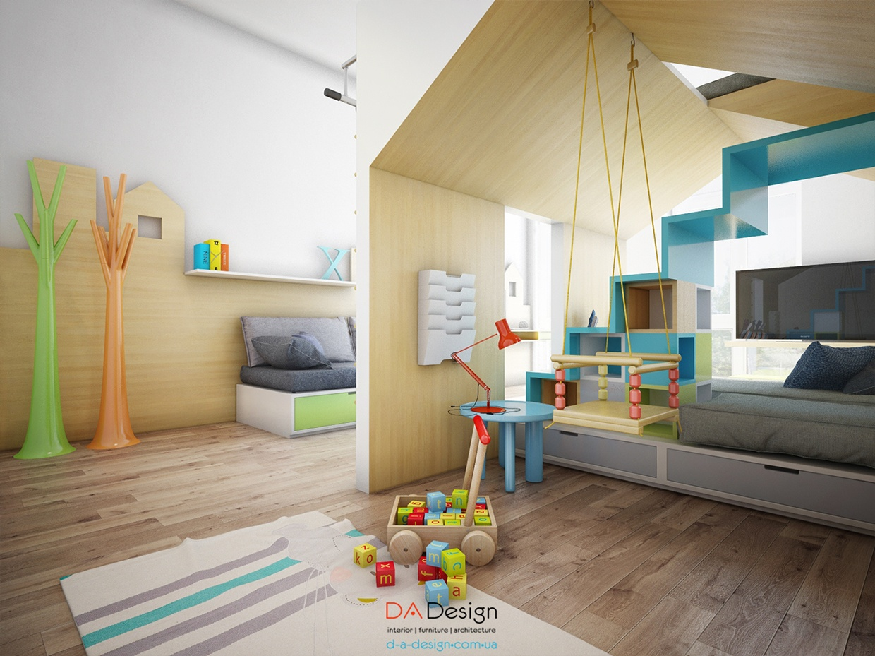 Sleek kids room design interior design ideas for Designer childrens bedroom ideas