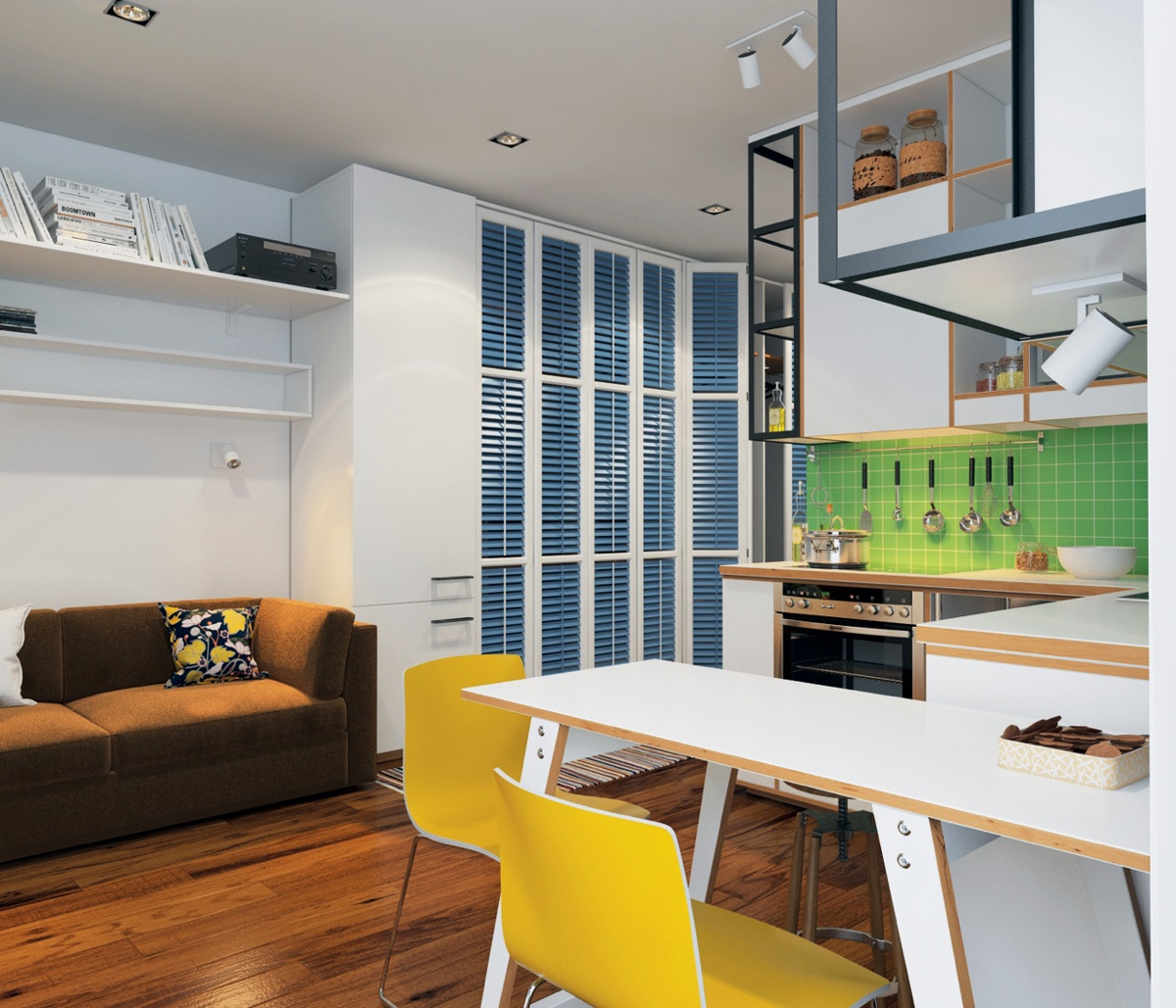 Homes Under 400 Square Feet 5 Apartments That Squeeze